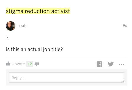actual job title